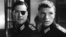 Szene aus dem Film STAUFFENBERG mit Sebastian Koch und Hardy Krüger jr.