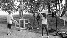 """Aglaia Szyszkowitz in """"Zimmer mit Stall"""" – Green Filmmaking par excellence – ARD-Nachaltigkeitsinitiative"""